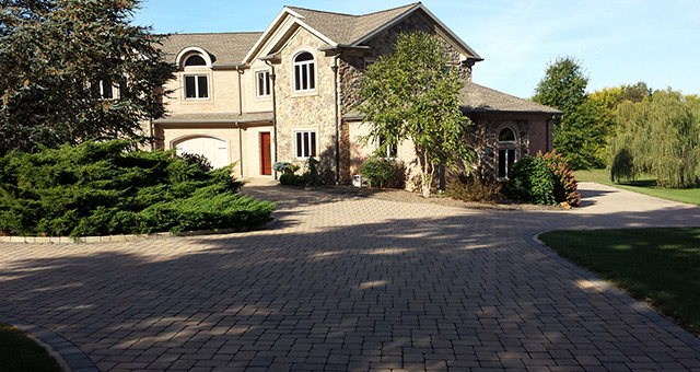 Paver Driveways provide an elegant welcome to your home.