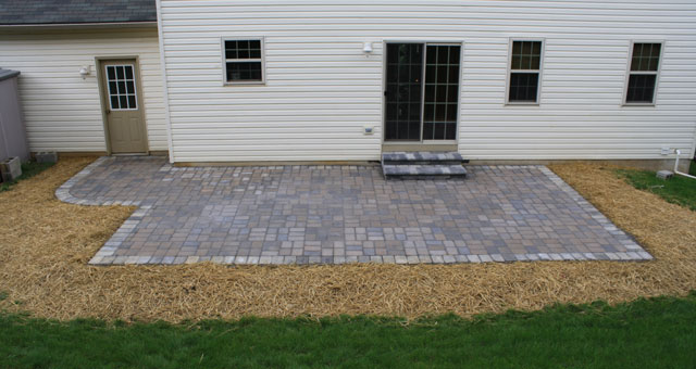 Paver patios are a durable, good-looking, and relatively inexpensive patio upgrade!