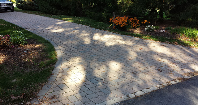 Pavers provide striking driveways that provide an elegant welcome for your guests.