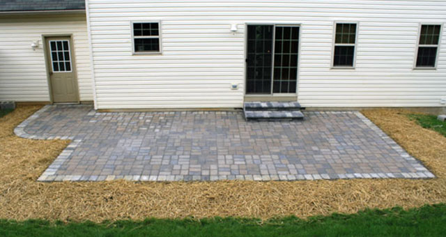 Paver patios provide good looking functionality that is durable and long lasting.